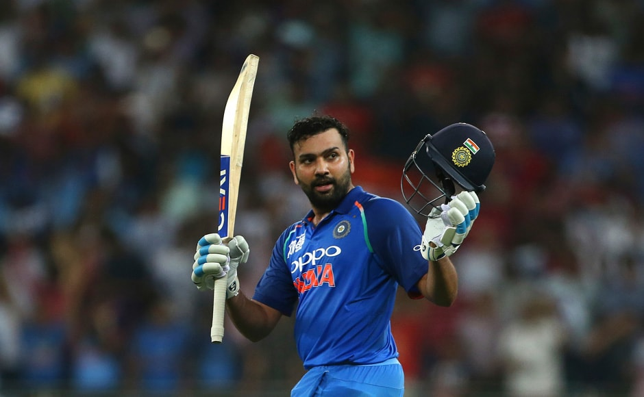 Rohit Sharma reached 7000 runs in One Day International cricket as as India won by nine wickets against Pakistan. AP