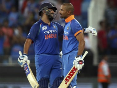 Asia Cup 2018: Shikhar Dhawan, Rohit Sharma slam centuries as clinical India thrash Pakistan to storm into final