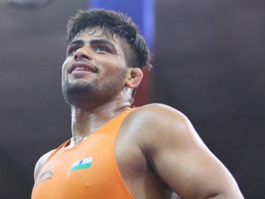 India's Sajan Bhanwal. Image Courtesy: United World Wrestling
