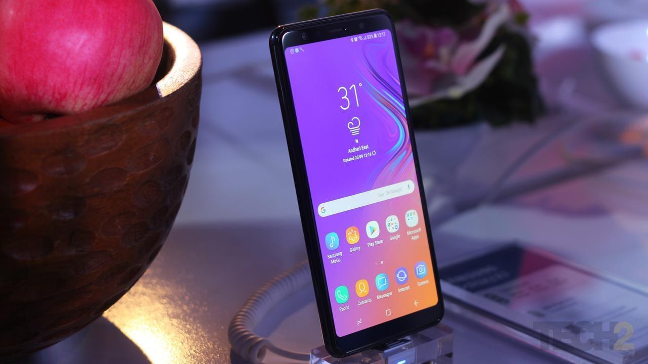 Samsung Galaxy A7. Image: tech2/Amrita Rajput
