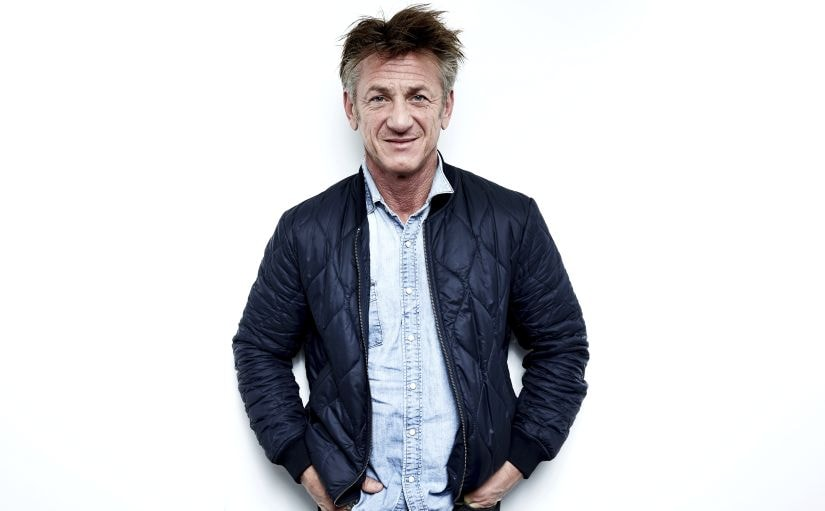 "FILE - In this March 27, 2018, file photo, author-activist Sean Penn poses for a portrait in New York to promote his novel ""Bob Honey Who Just Do Stuff."" Penn says much of the spirit of what has been the MeToo movement is to ""divide men and women."" Penn appeared Monday, Sept. 17, in an interview with the co-star of the new Hulu show ""The First"" on NBC's ""Today"" show. (Photo by Taylor Jewell/Invision/AP, File)"
