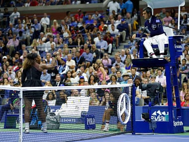 US Open 2018: Serena Williams accuses tennis of sexism after heated exchanges with chair umpire in controversial final