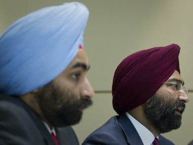A file photo of Shivinder Singh and Malvinder Singh. Reuters