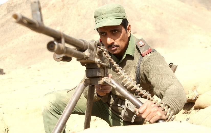 Sonu Sood as Major Bishan Singh in Paltan. Image via Twitter