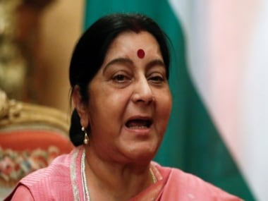 File image of Sushma Swaraj. Reuters