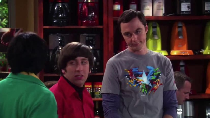 Jim Parsons, SZimon Helberg, Kunal NAYYAR IN A STILL FROM THE bIG bang theory