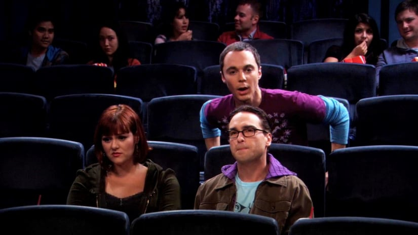 Jim Parsons and Johnny Galecki in a still from The Big Bang Theory