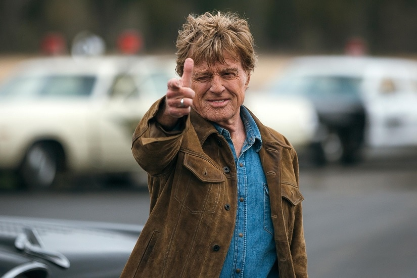 Robert Redford in The Old Man and the Gun. Image via Twitter