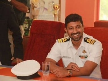 File image of Abhilash Tomy, the Indian sailor who was rescued today. Image courtesy: Facebook
