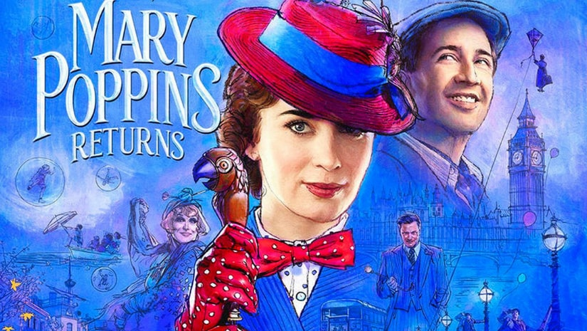 Mary Poppins Returns poster. Image from Facebook
