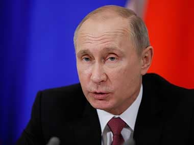 Vladimir Putin says new missiles could target decision-making centres if US sends weapons to Europe
