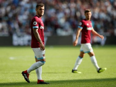 File image of West Ham United's Jack Wilshere. Reuters