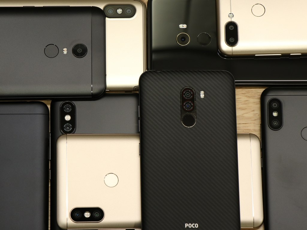 Xiaomi led the Indian smartphone market in 2018, followed by Samsung, Vivo