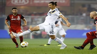 Major League Soccer Swedish Striker Zlatan Ibrahimovic Scores 500th Career Goal As La Galaxy Lose Against Toronto Fc Sports News Firstpost