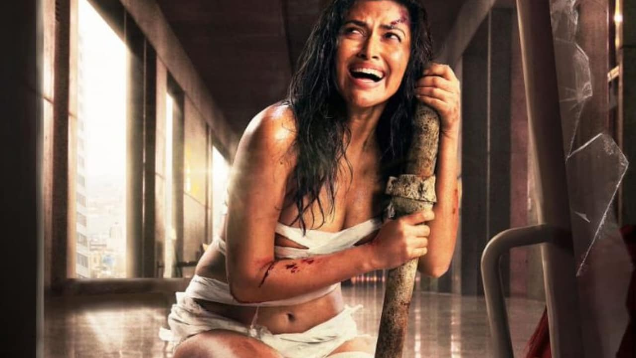 Aadai first look featuring Amala Paul. Image via Twitter