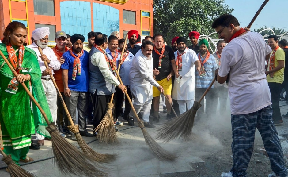 BJP had observed 'Seva Diwas' across the nation in 2017 on the prime minister's birthday. This year party leaders attended medical camps, blood donation events, and cleanliness drives across the nation. In Amritsar, BJP leader Shwait Malik and other workers took part in a cleanliness drive. PTI