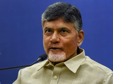 File image of Chandrababu Naidu. News18