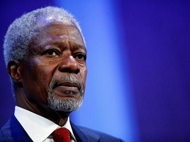 Former UN secretary-general Kofi Annans body brought to Ghana; Nobel Peace Prize winners funeral scheduled for Thursday