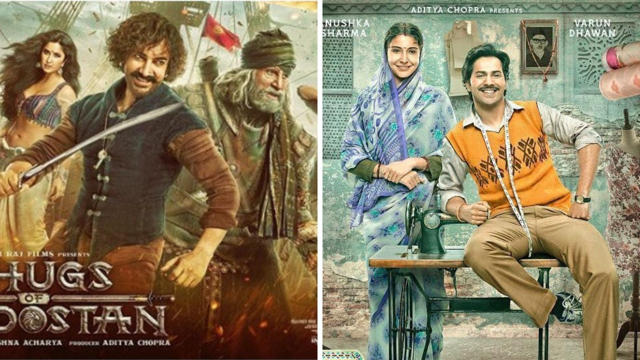 Thugs of Hindostan poster. Sui Dhaaga poster