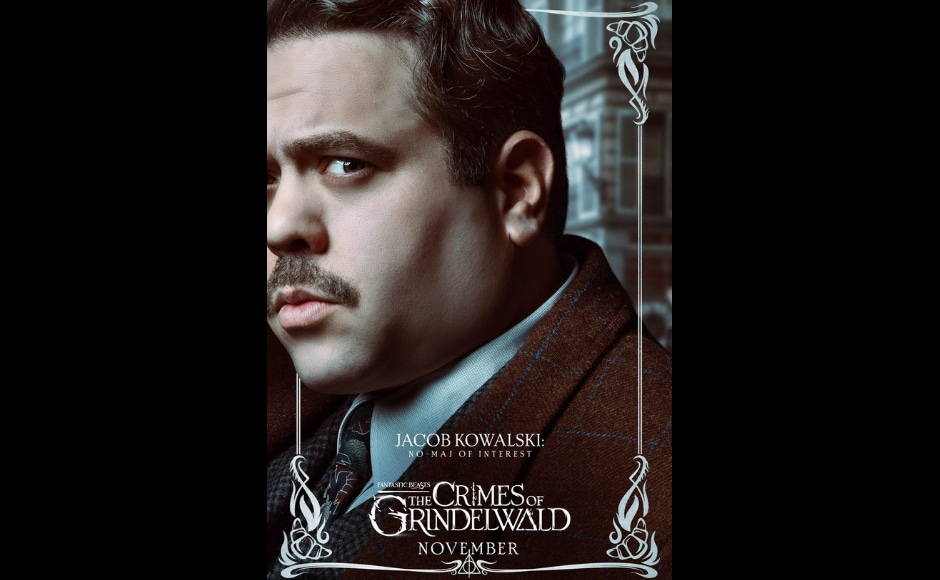 Dan Fogler as Jacob Kowalski in Fantastic Beasts: The Crimes of Grindelwald. Image from Twitter/ BeastsMovieUK