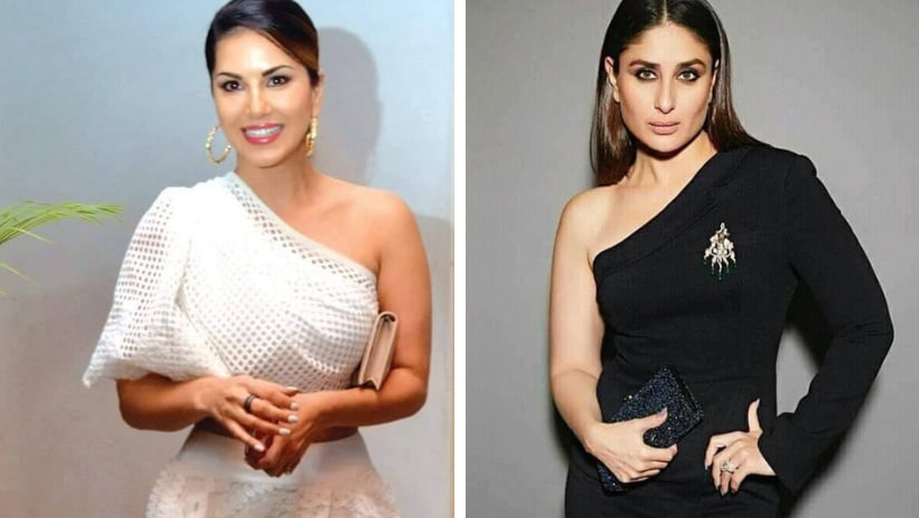 Sunny Leone (left) and Kareena Kapoor Khan. Images from Facebook