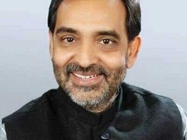 File image of RLSP chief Upendra Kushwaha. Image courtesy: Twitter/@UpendraRLSP