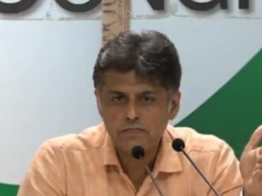 File photo of Congress spokesperson Manish Tewari. INC India