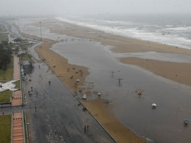 Marina beach in Chennai. Reuters