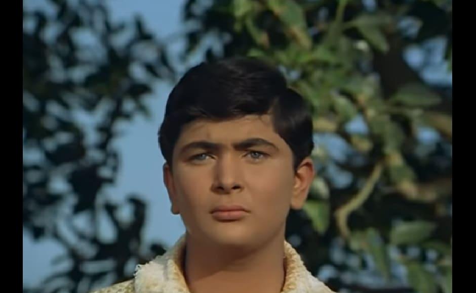 Rishi Kapoor made his big screen debut in his father Raj Kapoor's film Mera Naam Joker (1970)