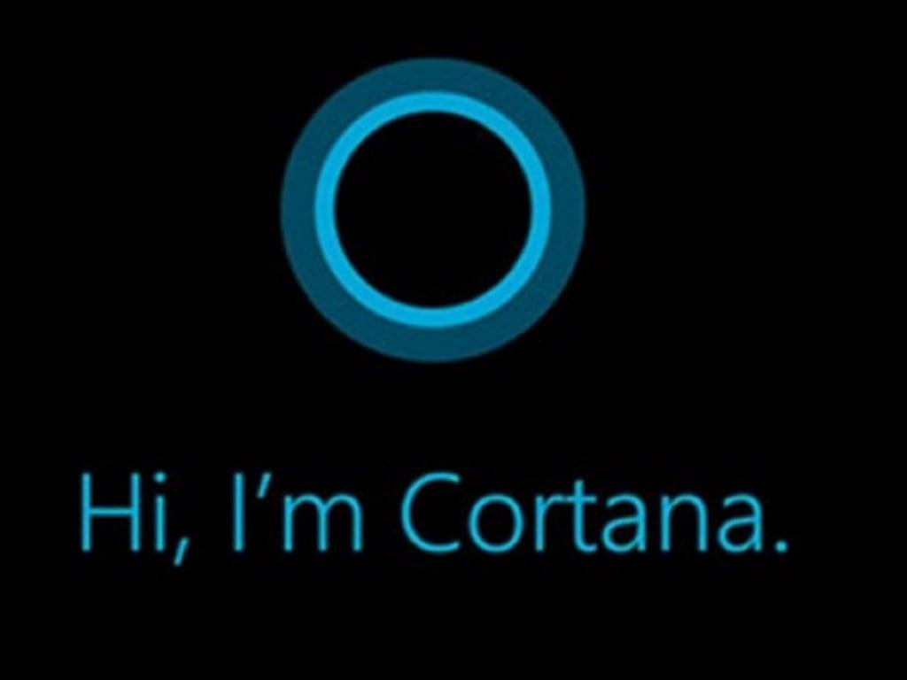 Microsoft Cortana.
