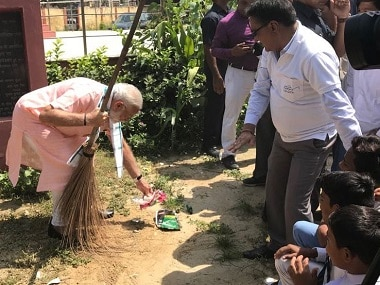 Narendra Modi launches 'Swachhata Hi Seva' campaign, says India achieved more in sanitation in 4 years than last 65 years