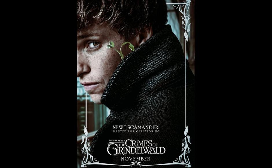 Eddie Redmayne as Newt Scamander in Fantastic Beasts: The Crimes of Grindelwald. Image from Twitter/ BeastsMovieUK