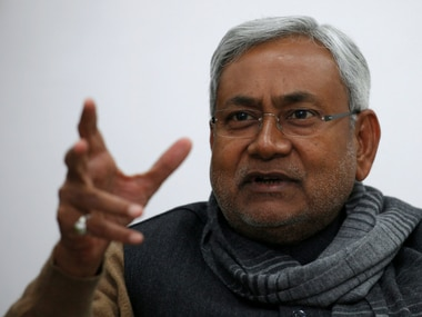 File image of Bihar chief minister Nitish Kumar. Reuters