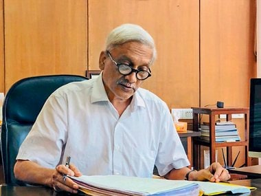 File image of Goa chief minister Manohar Parrikar. News18