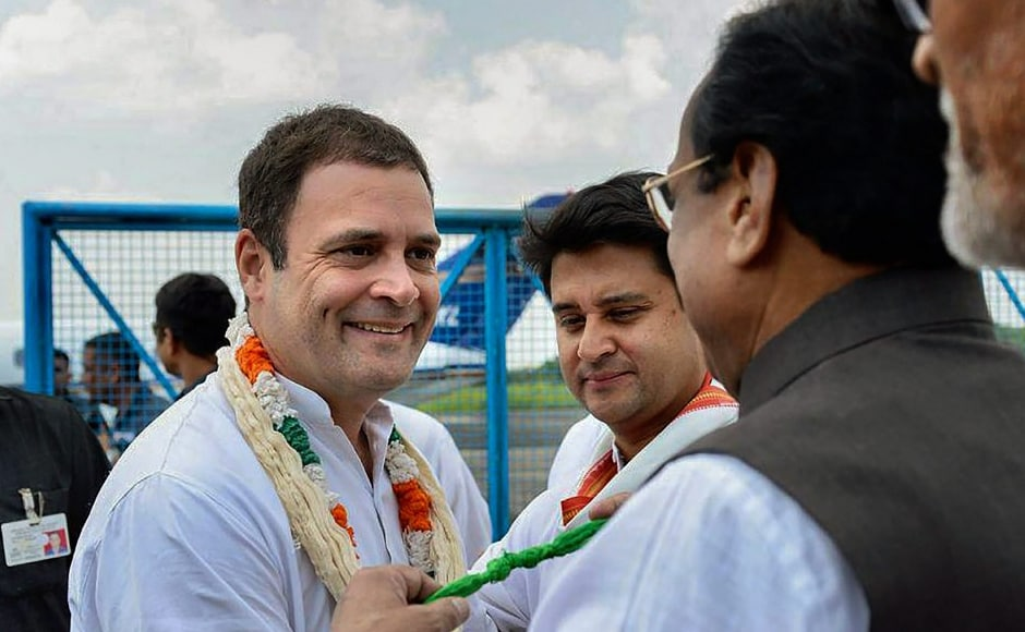 Rahul Gandhi kicks off election campaign in Madhya Pradesh, attacks BJP over demonetisation, GST and farm loan waivers