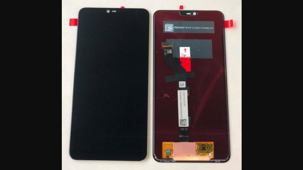 The leaked image of Redmi Note 6 shows that the display may sport a notch. Aliexpress Russia.