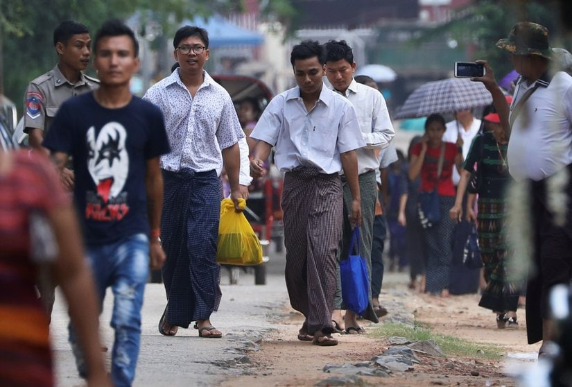 Reuters journalists Wa Lone, Kyaw Soe Oo released after 512 days in prison: How Myanmar punished the duo for uncovering an atrocity