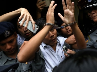 New low for press freedom: Human rights activists, journalists condemn sentencing of Reuters scribes in Myanmar