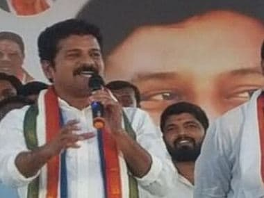 Image of Telangana Congress working president Revanth Reddy. Twitter/@revanth_anumula