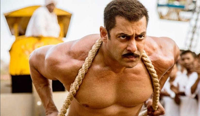 Salman Khan in Sultan. Image via Twitter/@bollywoodnewsfb