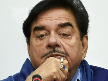 File image of BJP MP Shatrughan Sinha. PTI