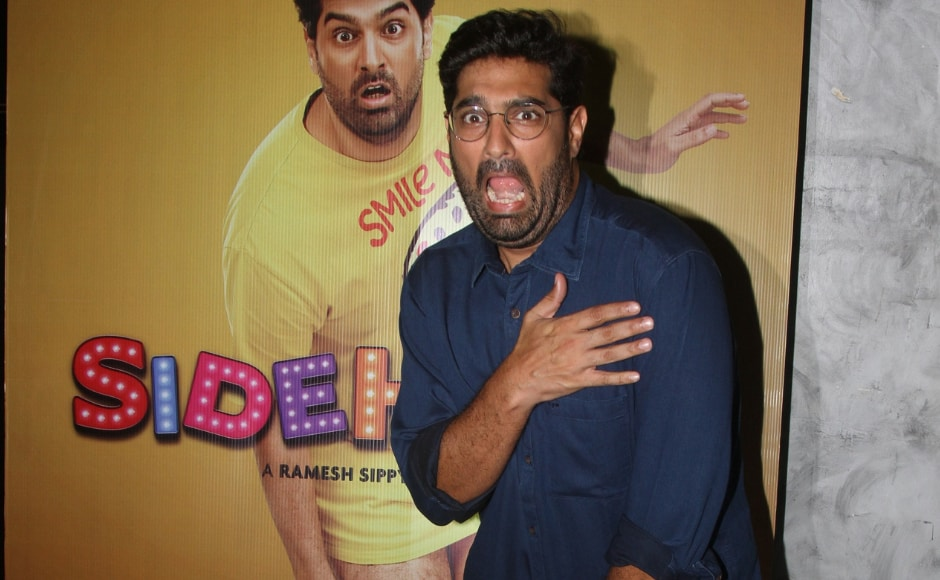 Kunaal Roy Kapur, the side hero himself at the special screening of Eros Now's first original show Side Hero