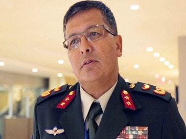 File image of Nepal's Army Chief Purna Chandra Thapa. News18
