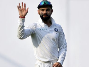 File image of India captain Virat Kohli. AP
