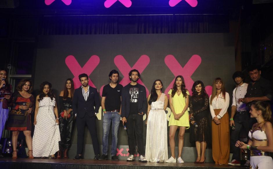 Shantanu Maheshwari, Ritvik Dhanjani, Aadar Malik attend trailer launch of ALTBalaji's web series XXX