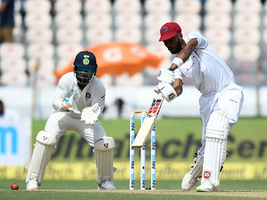 India vs West Indies: Roston Chase's effort ensures visitors stay in hunt with match evenly poised after Day 1