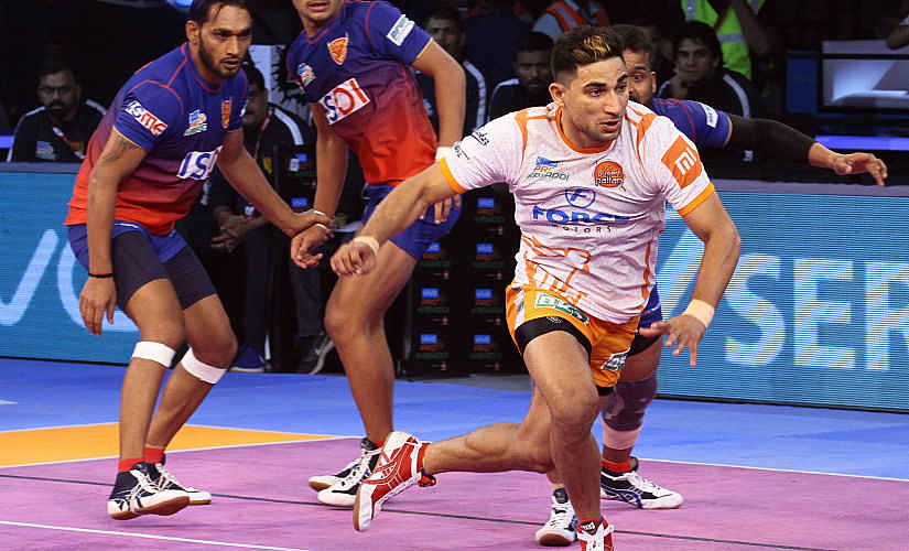 Nitin Tomar has been in excellent form in season six playing for Puneri Paltan. Image Courtesy: PKL