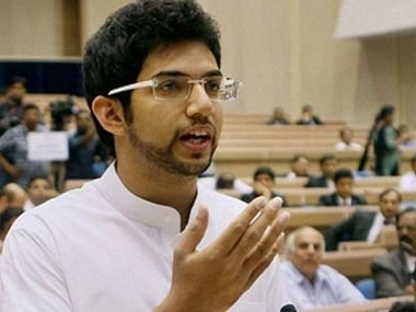 File photo of Aditya Thackeray. PTI