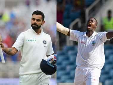 File images of Indian cricket team captain Virat Kohli and West Indies captain Jason Holder. Agencies
