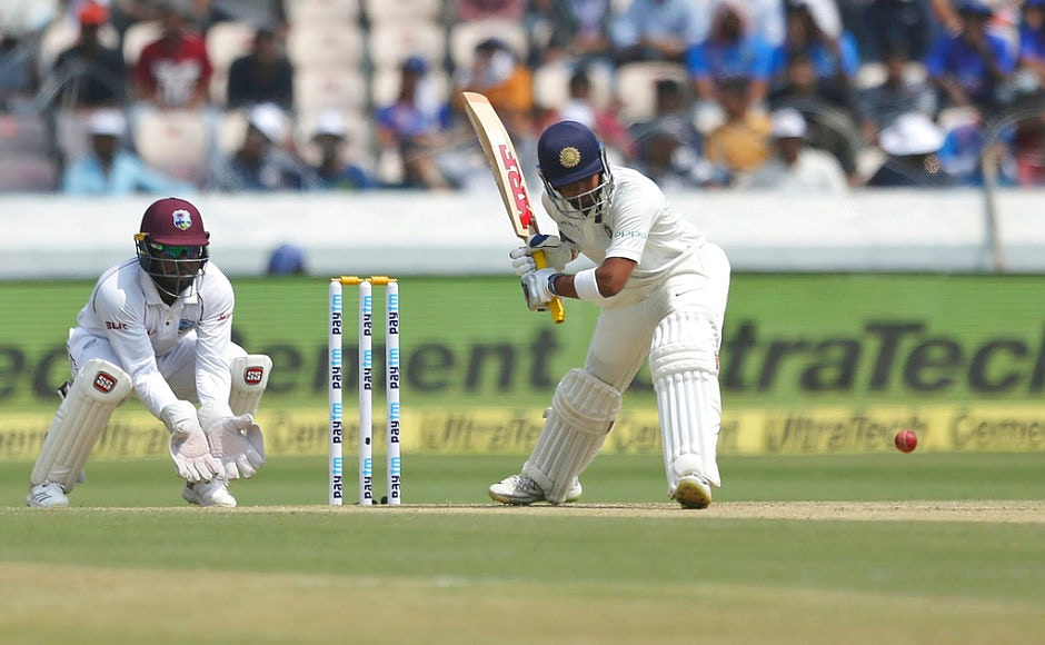 India began innings on a positive note as openers Prithvi Shaw and KL Rahul put on 61 runs for the first wicket. However, among the two, it was Shaw who did bulk of the scoring. He scored another fifty and ended up with 70 off 53. AP